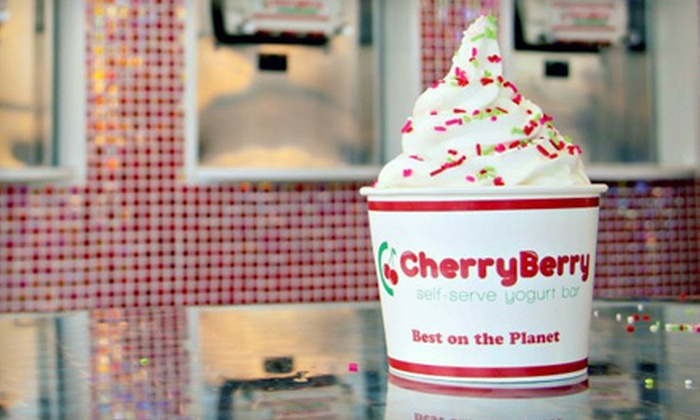 CherryBerry - Multiple Locations: $10 for $20 Worth of Frozen Yogurt and Toppings at CherryBerry