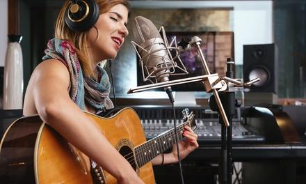 4 o 6 lezioni di canto o musica