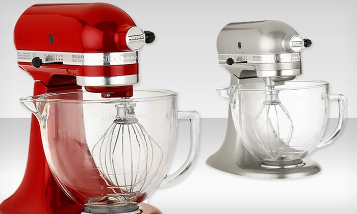 Kitchenaid Deluxe Edition 5 Qt Stand Mixer