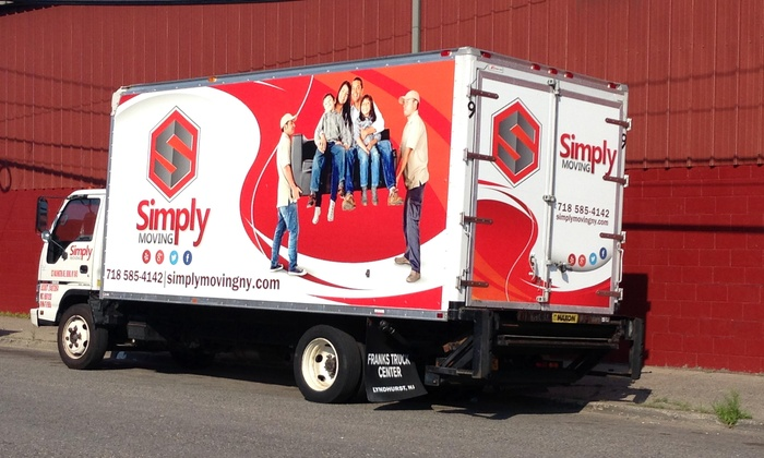 Simply Moving - New York City: Three Hours of Moving Services with Two Movers and Supplies from Simply Moving (57% Off)