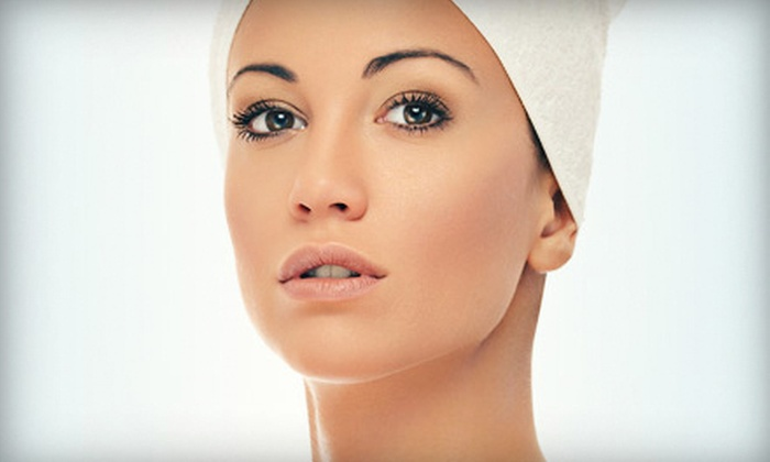 Crimson Renee Salon & Nails - Oregon: European Facial and Massage or Micro-Current Skin Treatment at Crimson Renee Salon & Nails (Up to Half Off)