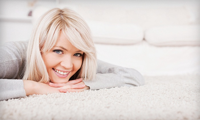 Legends Carpet Cleaning - Canyon Country: Carpet Cleaning for Three or Four Rooms or Upholstery Cleaning from Legends Carpet Cleaning (Up to 80% Off)