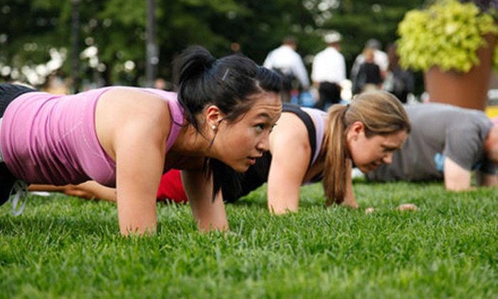 Boston's Bootcamp - Downtown: $49 for 10 Classes from Boston's Bootcamp ($179 Value)