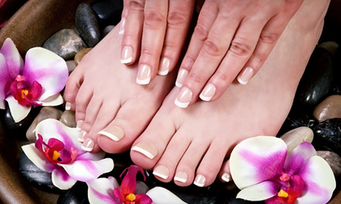Natty's Hair and Nails - Taylorsville: One or Two Mani-Pedis, or One Shellac Mani-Pedi at Natty's Hair and Nails (Up to 53% Off)