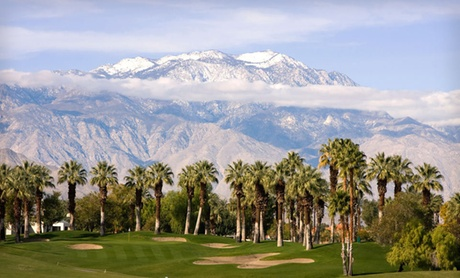 Palm Springs Resort with Golf Course