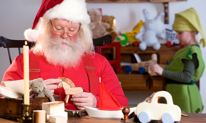 Santa's Winterfest at Country Junction - Lehighton: Entry to Santa's Winterfest at County Junction for Adults and Kids (Half Off). Three Options Available.