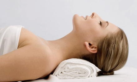 Fall Retreat MassagePackageorMicrodermabrasion with Express Facials at True Salon and Spa (Up to 72% Off)