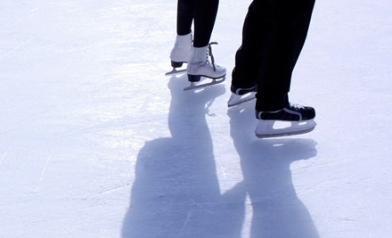Ice Skating for Two or Four, Learn to Skate, or Learn to Play Hockey at Delaware State Fair Ice Rink (Up to 54% Off)