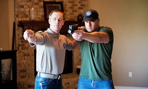 OKC Tactical: Intro Class with Two Skill-Building Lessons, or Couples Pistol Pack'n Date Night at OKC Tactical (Up to 51% Off)