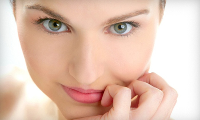 Esthetics By Marlene - Belleville: One Microdermabrasion Session or One Custom Facial and Eyebrow Wax Esthetics By Marlene (Up to 52% Off)
