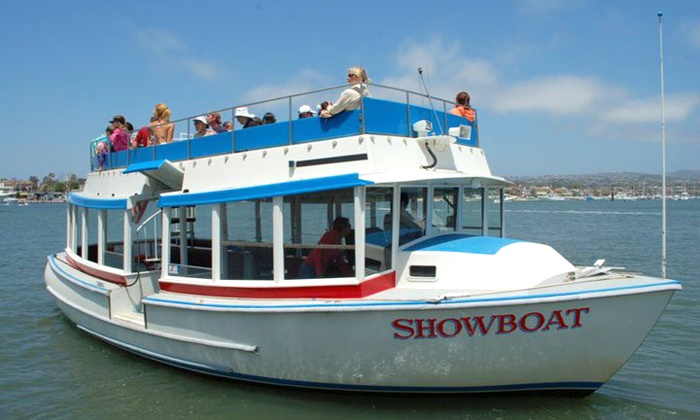 Fun Zone Boat Company - Balboa Peninsula Point: 45-Minute Newport Harbor Boat Tour for One, Two, or Four from Fun Zone Boat Company (Up to 54% Off)