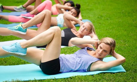 $39 for Four Weeks of Unlimited Outdoor Boot-Camp Classes at Rejuvenate Wellness, LLC ($210 Value)
