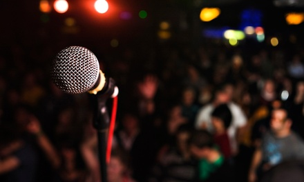 Comedy Show with Drinks for Two or Four on Fridays and Saturdays Through December 17 (Up to 44% Off)