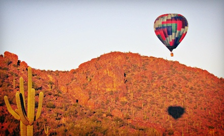 $309 for a Hot-Air-Balloon Ride for Two from Foolish Pleasure Hot Air Balloon Rides ($470 Value)