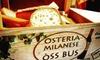 ⏰ Menu tipico milanese, Darsena