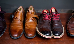 Cobblestone Quality Shoe Repair: Heel-Cap Replacements for Men's or Women's Shoes or Boots at Cobblestone Quality Shoe Repair (Up to 67% Off)