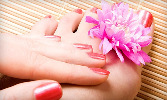 The Skin & Permanent Makeup Institute - San Antonio: Mani-Pedis and Facial at The Skin & Permanent Makeup Institute (Up to 54% Off). Three Options Available.