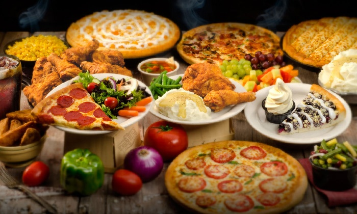 Pizza Ranch - Fort Pierre: Pizza and Chicken Buffet for Two or Four or $14 for $20 Worth of Carryout and Delivery at Pizza Ranch