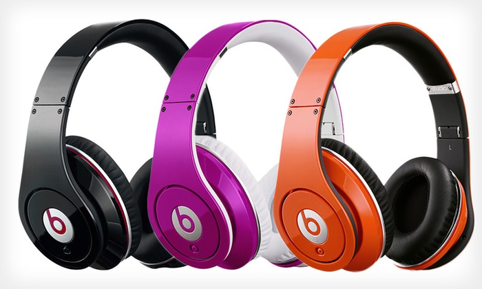Beats by Dr. Dre Studio Headphones: $249 for Beats by Dr. Dre Studio Headphones in Black, Orange, or Pink ($299.95 List Price). Free Shipping and Returns.