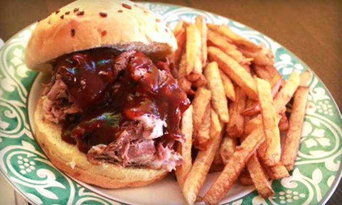 C&G's Smoking Barbecue - Tangletown: $18 for Two Groupons, Each Worth Two Barbecue Sandwiches and One Side at C&G's Smoking Barbecue (Up to $40.98 Value)