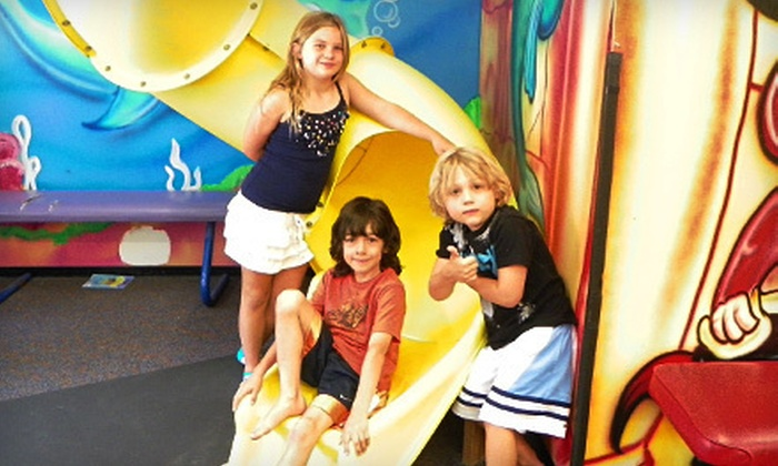Under the Sea Indoor Playground - Multiple Locations: 5 or 10 Open-Play Sessions or $50 for $150 Toward Private Birthday Party at Under the Sea Indoor Playground