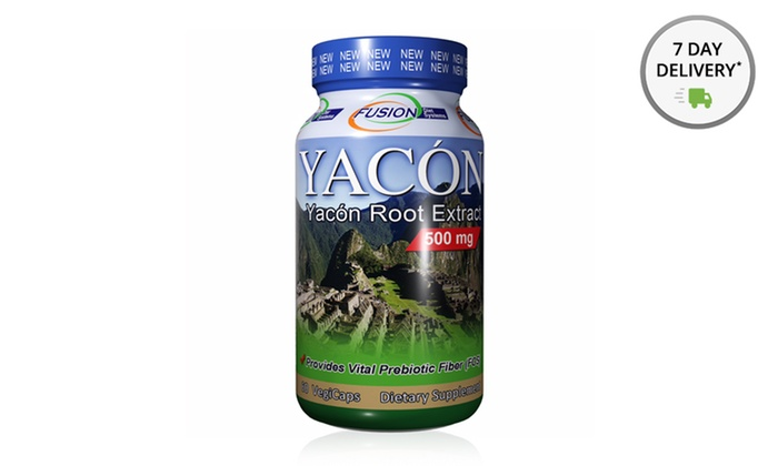 Fusion Diet Systems Yacon Root Extract: One 60-Count Bottle of Fusion Diet Systems Yacon Root Extract