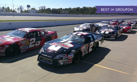 Short-Track Racing Experience or Ride-Along at Rusty Wallace Racing Experience (Up to 55% Off)