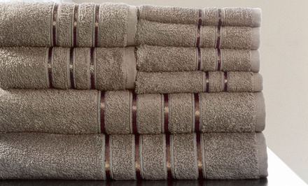 100% Egyptian Cotton 8-Piece Towel Set