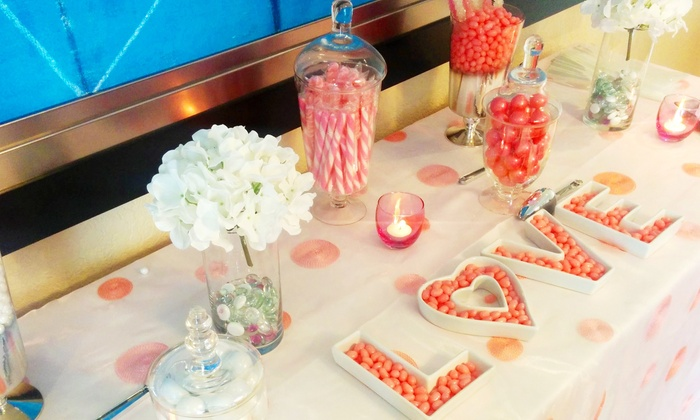 Out of Box Events and Weddings - Miami: $99 for Candy Table with Sixlets, Gummies, and Gumballs from Out of Box Events and Weddings ($250 Value)