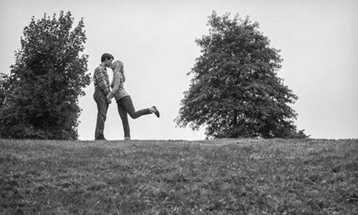 John Francis Photography - Boston: $89 for an On-Location Engagement Photo Shoot with Print and Digital Images from John Francis Photography ($535 Value)