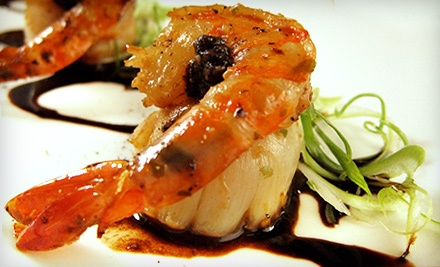 Japanese Cuisine and Sushi for Dinner at Kibo Restaurant and Lounge (Half Off). Two Options Available.