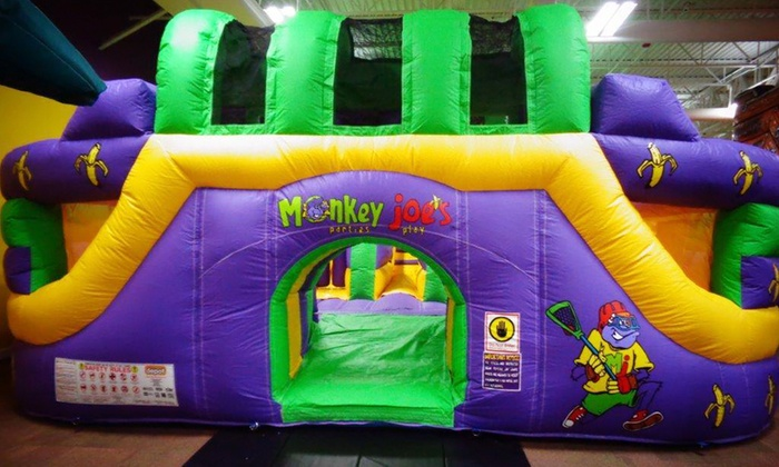 Monkey Joe's - Monkey Joes: 4 or 8 Admissions, or Party for Up to 24 Children at Monkey Joe's (Up to 52% Off)