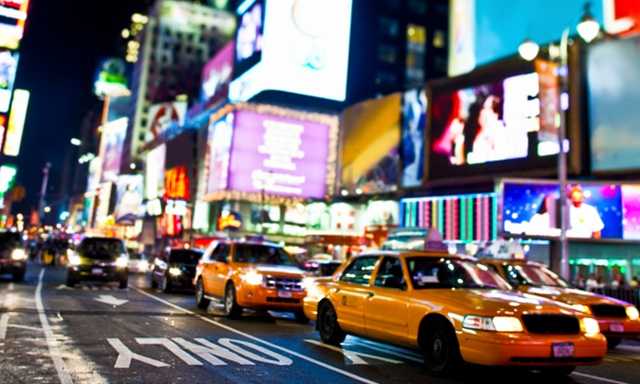 What's $1 TM - Theater District - Times Square: Guided Tour for Two or Four from What's $1 TM (Up to 59% Off)