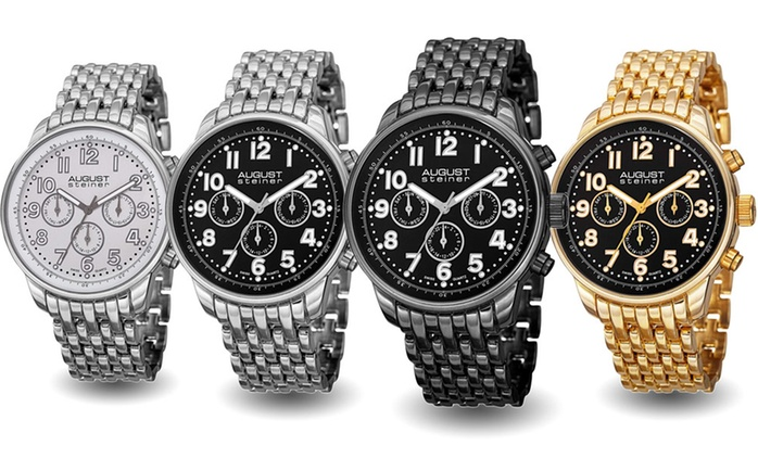 August Steiner Men's Watches for €54.99 With Free Delivery (82% Off)