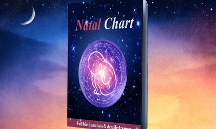 Personalized Astrology Natal Chart, Analysis & Birthday Forecast or Life Path Report from Astro Gifts (87% Off)