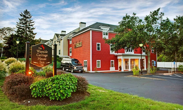 The Wayside Carriage House Inn - Sudbury: One-Night Stay with Dining Credit at The Wayside Carriage House Inn in Sudbury, MA