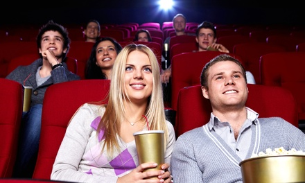 Movie Tickets, Popcorn, and Soft Drinks for Two or Four at Western Film (41% Off)