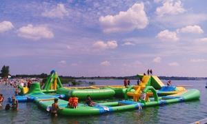 Waterfun : Od 21,99 zł: godzinna zabawa w Wodnym Parku Rozrywki Waterfun nad Jeziorem Tarnobrzeskim (do -43%)