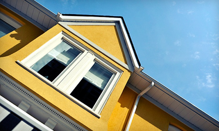 Absolutely Clear Window Cleaning, LLC - Colorado Springs: Exterior Pressure Washing for 2,200 or 5,000 Square Feet from Absolutely Clear Window Cleaning, LLC (Up to Half Off)