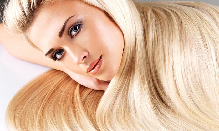 Luxury Styles by Michelle at Delaney Salons - Delaney Salon Studios: Brazilian Blowout with Optional Haircut from Luxury Styles by Michelle at Delaney Salons (Up to 67% Off)