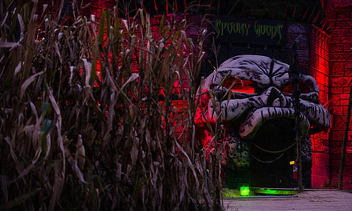 Kersey Valley Spooky Woods - Archdale: Dark Circus Halloween Party Entry for 1, or General Admission for 2 or 4 to Kersey Valley Spookywoods (Up to Half Off)