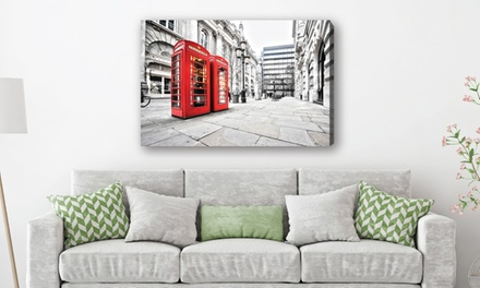 City Canvas Print in Choice of Size and Design