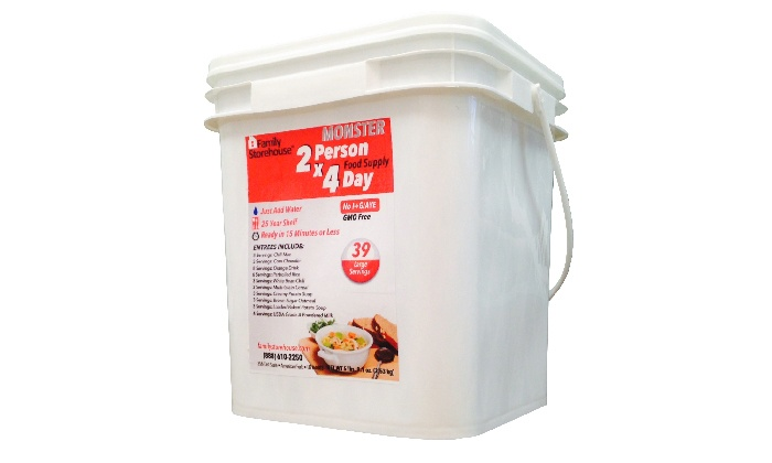 Family Storehouse - American Fork: $69 96-Hour Deluxe Emergency Meal Kit for Two from Family Storehouse ($140 Value)