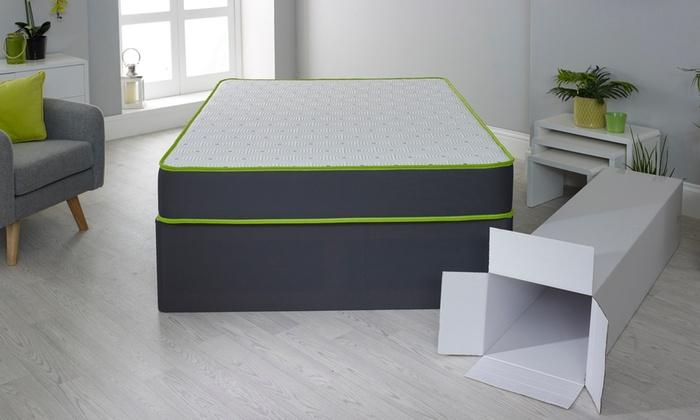 Lime Orthopaedic Memory Foam Mattress