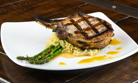 $21 for $40 Worth of Gourmet American Cuisine for Dinner at The Scotch and Vine
