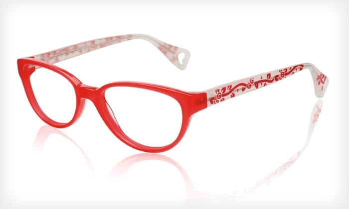 Petal Perfect Frames: $39 for Petal Perfect Optical Frames by Betsey Johnson ($195 List Price). Two Colors Available.