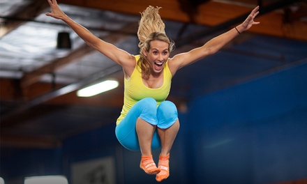 2-Hour Trampoline Jump Passes for Weekdays or Weekends (Up to 43% Off)