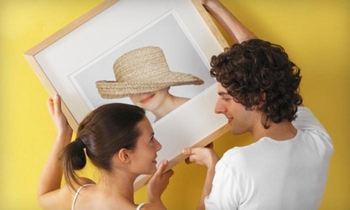 Santa Barbara Frame Shop - Santa Barbara Downtown: $39 for $100 Worth of Custom Framing at Santa Barbara Frame Shop
