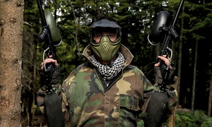 Point Blank Paintball: Paintball Package For Six or Ten People with Point Blank Paintball (Up to 98% Off)
