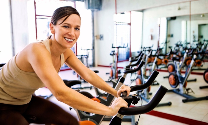 Shape-Up Fitness Center - Corona Del Mar: 5 or 10 Spin or Soul Spin Classes at Shape-Up Fitness Center (Up to 75% Off)